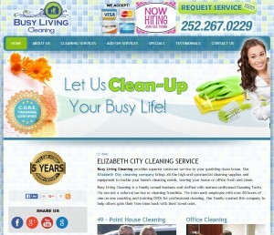 Website - Busy Living Cleaning